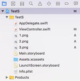 Swift4】プロジェクトのpng画像やmp3音楽ファイル一覧を取得する